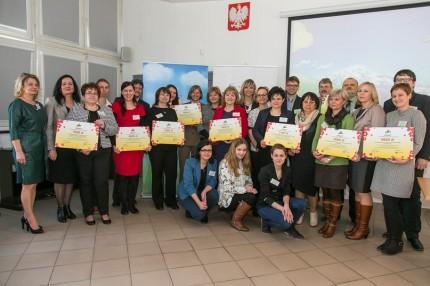 Uroczyste wręczenie grantów Z Kujawskim pomagamy pszczołom1