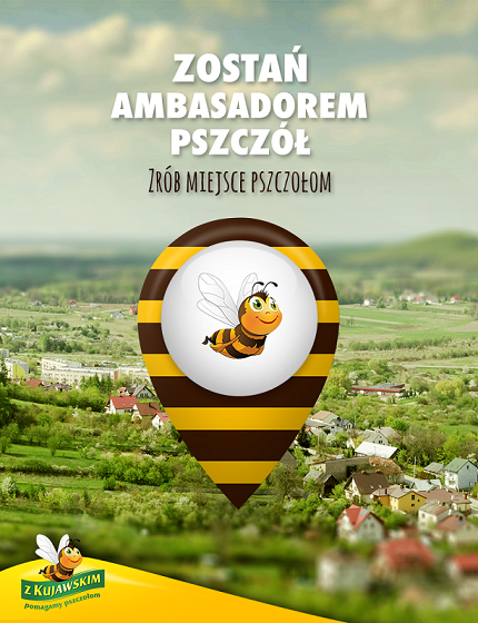 Zostań Ambasadorem Pszczół