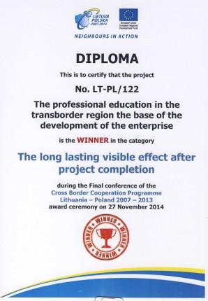 dyplom zwyciezcy