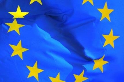 flaga_UE_powiewajaca
