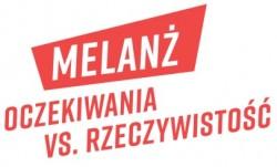 melanż - logo